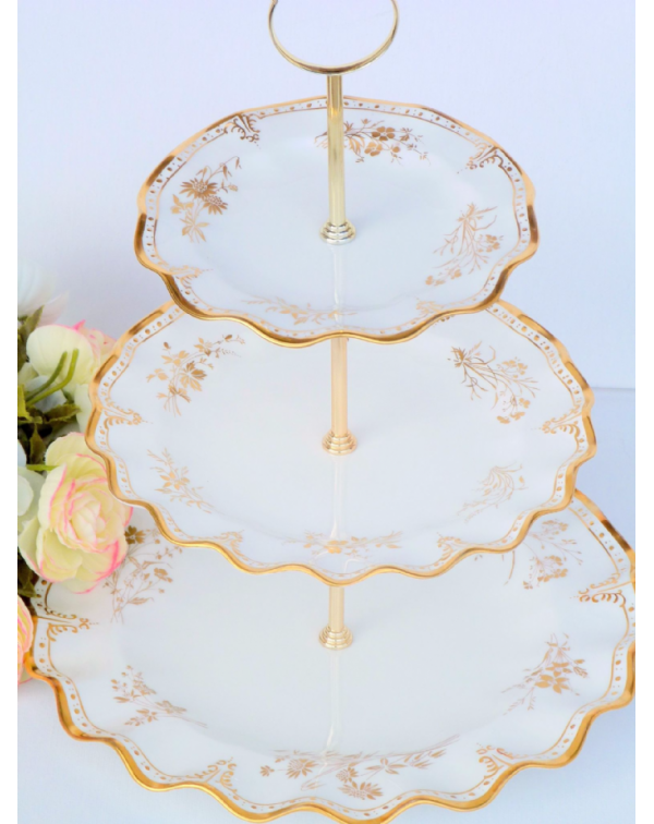 (OUT OF STOCK) ROYAL CROWN DERBY ST JAMES CAKE STA...